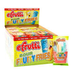EFRUTTI GUMMI SOUR FRUITY FRIES 0.55 OZ