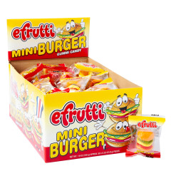 EFRUTTI GUMMY MINI BURGER 0.32 OZ