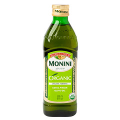 MONINI EXTRA VIRGIN OLIVE OIL 100% USDA ORGANIC 16.9 OZ BOTTLE
