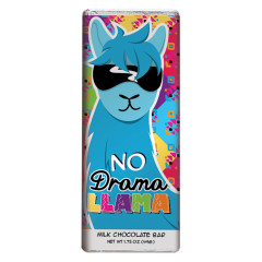 AMUSEMINTS MILK CHOCOLATE NO DRAMA LLAMA 1.75 OZ BAR