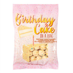 AMUSEMINTS BIRTHDAY CAKE DOUGH BITES 5 OZ PEG BAG