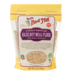 BOB'S RED MILL NATURAL HAZELNUT MEAL / FLOUR 14 OZ BAG