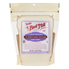 BOB'S RED MILL TURBINADO SUGAR 14 OZ POUCH