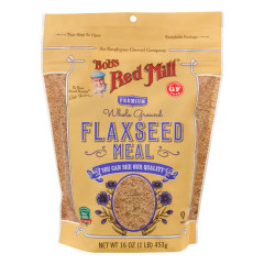 BOB'S RED MILL FLAXSEED MEAL 16 OZ POUCH