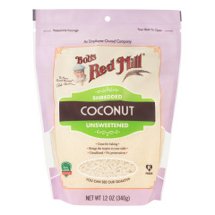 BOB'S RED MILL SHREDDED COCONUT 12 OZ POUCH