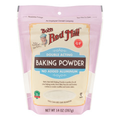 BOB'S RED MILL BAKING POWDER 14 OZ POUCH
