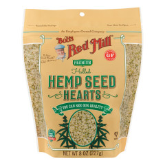 BOB'S RED MILL HEMP SEEDS HEARTS HULLED 8 OZ POUCH