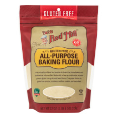 BOB'S RED MILL GLUTEN FREE ALL PURPOSE BAKING FLOUR 22 OZ POUCH