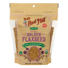 BOB'S RED MILL ORGANIC GOLDEN FLAXSEED 13 OZ POUCH