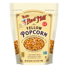 BOB'S RED MILL YELLOW POPCORN 30 OZ POUCH