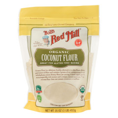 BOB'S RED MILL ORGANIC COCONUT FLOUR 16 OZ POUCH