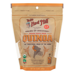 BOB'S RED MILL ORGANIC QUINOA GRAIN 13 OZ POUCH