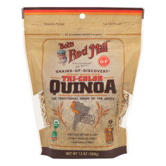 BOB'S RED MILL ORGANIC TRI-COLOR QUINOA 13 OZ POUCH