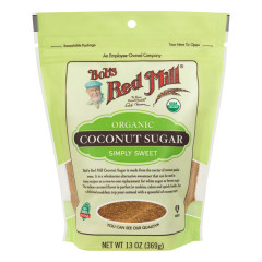 BOB'S RED MILL ORGANIC COCONUT SUGAR 13 OZ POUCH