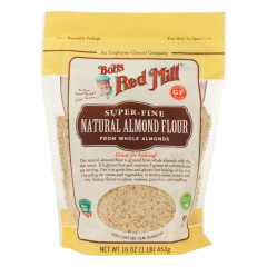 BOB'S RED MILL NATURAL ALMOND FLOUR 16 OZ POUCH