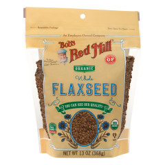 BOB'S RED MILL ORGANIC FLAXSEED BROWN 13 OZ POUCH