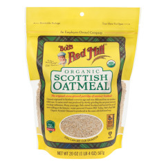 BOB'S RED ORGANIC SCOTTISH OATMEAL 20 OZ POUCH