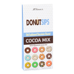 DONUTSIPS OLD FASHIONED DONUT FLAVORED 3.5 OZ COCOA MIX
