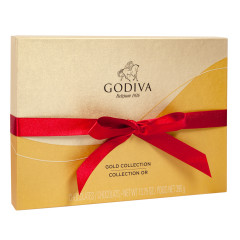 GODIVA 36 PC HOLIDAY BALLOTIN 14.3 OZ BOX