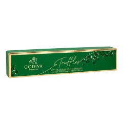 GODIVA 6 PC HOLIDAY TRUFFLES 4.1 OZ BOX