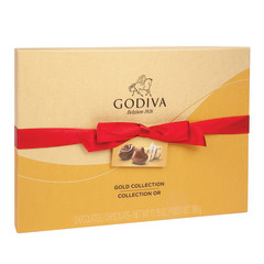 GODIVA 36 PC VALENTINE BALLOTIN 14.3 OZ BOX