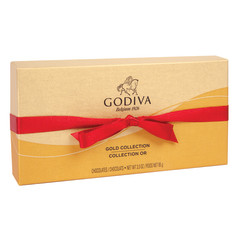 GODIVA 8 PC VALENTINE BALLOTIN 3.4 OZ BOX