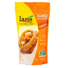 IAN'S ORIGINAL PANKO BREADCRUMBS 9 OZ POUCH