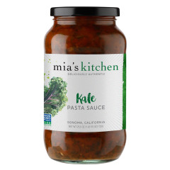 MIA'S KITCHEN KALE PASTA SAUCE 25.5 OZ JAR