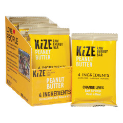 KIZE BAR PEANUT BUTTER RAW ENERGY BAR 1.6 OZ
