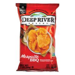 DEEP RIVER MESQUITE BBQ KETTLE CHIP 2 OZ BAG