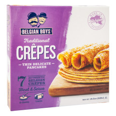 BELGIAN BOYS ALL NATURAL CREPES 18.5 OZ