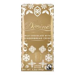 DIVINE MILK CHOCOLATE GINGERBREAD CRISP 3.2 OZ BAR