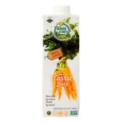 HEAVEN & EARTH CARROT JUICE 25.6 OZ