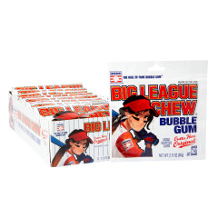 BIG LEAGUE CHEW ORIGINAL GIRL POWER 2.12 OZ