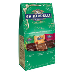 GHIRARDELLI CLASSIC ASSORTED SQUARES 8.6 OZ LARGE BAG