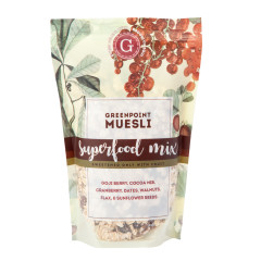 GREENPOINT MUESLI SUPERFOOD MUESLI 12 OZ BAG
