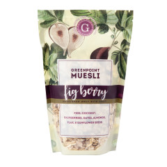 GREENPOINT MUESLI FIG BERRY MUESLI 12 OZ BAG