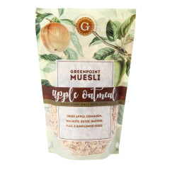 GREENPOINT MUESLI APPLE OATMEAL MUESLI 12 OZ BAG