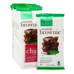 CHUAO DARK CHOCOLATE MINTFULLY BROWNIE 2.8 OZ BAR