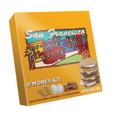 SAN FRANCISCO S'MORES KIT 3.95 OZ PK 24 BOX *SF DC ONLY*