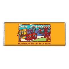 SAN FRANCISCO MILK CHOCOLATE 1.75 OZ BAR *SF DC ONLY*