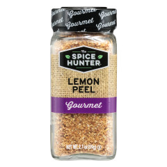 SPICE HUNTER GRANULATED LEMON PEEL 2.1 OZ