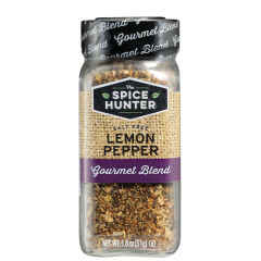 SPICE HUNTER SALT FREE LEMON PEPPER 1.8 OZ