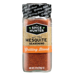 SPICE HUNTER SALT FREE MESQUITE SEASONING 2 OZ