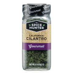 SPICE HUNTER CALIFORNIA CILANTRO LEAVES 0.3 OZ