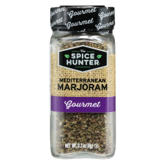 SPICE HUNTER MEDITERRANEAN MARJORAM LEAVES 0.3 OZ