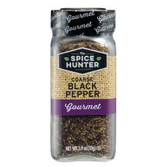 SPICE HUNTER COARSE GROUND BLACK PEPPER 1.9 OZ