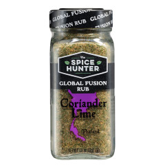 SPICE HUNTER CORIANDER LIME RUB 1.9 OZ