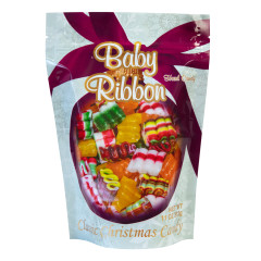 BABY RIBBON CANDY 11 OZ STAND UP POUCH