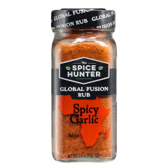 SPICE HUNTER SPICY GARLIC RUB 2 OZ